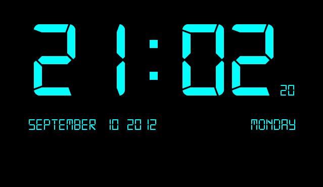 ساعت دیجیتال جاوا