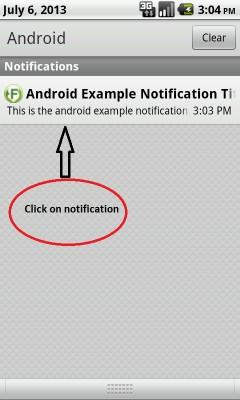 ساخت notification در اندروید