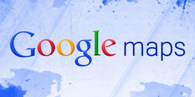 نقشه google maps